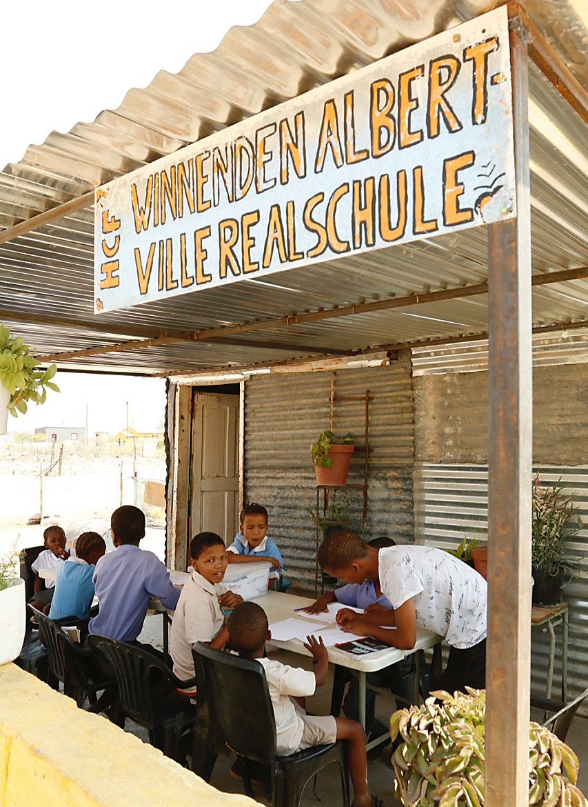 Albertville-Realschule Suppenküche - Hoachanas Children Fund